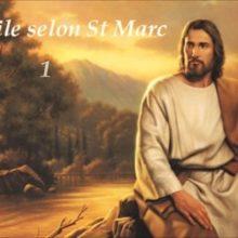 Groupe de prière et de lecture de Saint Marc les lundi  14- 28 janvier et 11- 25 février 2019